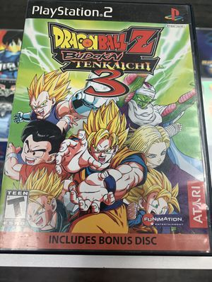 Dragonball z budokai Tenkachi 3 $90 Gamehogs 11am-7pm for Sale in East Los Angeles, CA