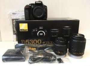 Nikon D5300 DX with 18-55mm and 50mm f/1.8G Nikkor lens - $550 for Sale in Chicago, IL