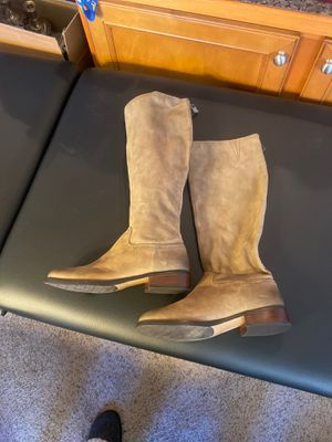 Nordstrom Halogen tall shaft distressed boots women's size 10 for Sale in Brier, WA