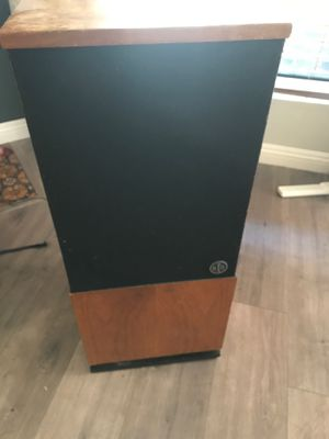 Pair of vintage RTR floor speakers including Onkyo receiver - great for Dj equipment, great for movies, great for music! for Sale in Lakeside, CA