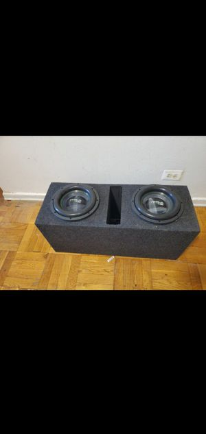 """TWO Tezla Audio 10"""" 1.5K Series 2000W EACH Subwoofer TZV1-10D41.5K for Sale in The Bronx, NY"""