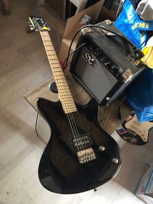 Electric guitar with amp kit for Sale in Lawrence Township, NJ