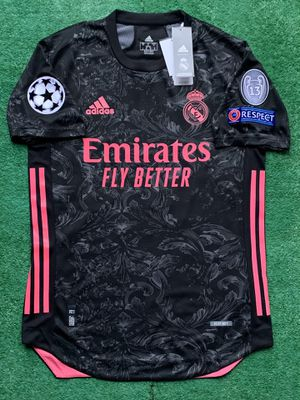 2020/21 Real Madrid 3rd kit soccer jersey for Sale in Raleigh, NC