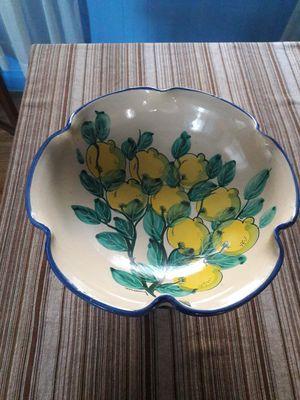 Italian Pottery Kitchen Bowl for Sale in Revere, MA