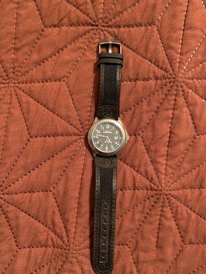 Times men's leather strap watch for Sale in Glendale, AZ