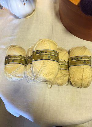 Bucilla knitting wool for Sale in Philadelphia, PA