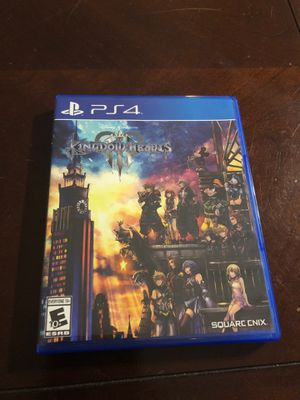 Kingdom Hearts 3 PS4 for Sale in Levittown, NY