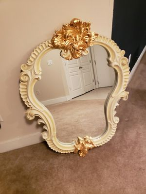 Large Antique Wall Mounted Mirror for Sale in Atlanta, GA