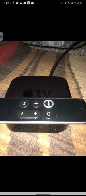 Apple TV 4k UHD. for Sale in Kent, WA