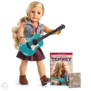 American Girl Tenney doll & guitar new for Sale in Chicago, IL