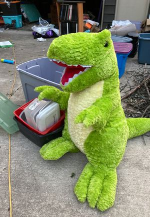 worlds softest and biggest T Rex Plushie for Sale in Chicago, IL