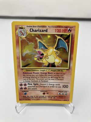 Charizard - Pokemon Base Set Holo - Played for Sale in Glendale, CA