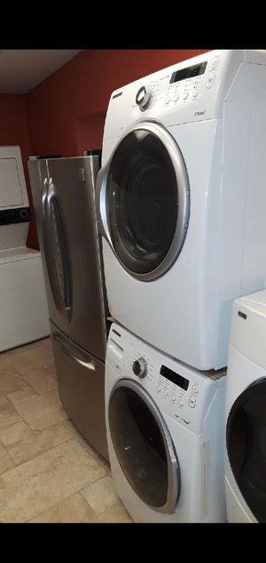 Samsung Washer Electric Dryer Set With Warranty Front Load #848 for Sale in Spring Hill, FL