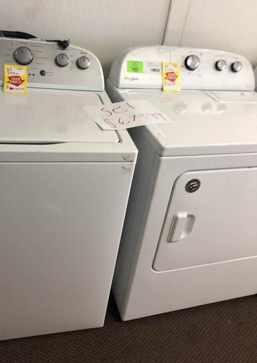 Whirlpool Set 🙈⚡️✔️⏰🍂🔥😀🙈⚡️✔️✔️⏰🍂🔥😀🙈⚡️✔️⏰ Appliance Liquidation!!!!!!!!! K TB6