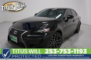 2014 Lexus IS 350 for Sale in Tacoma, WA