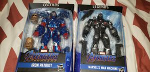 Marvel Legends Avengers Endgame Iron Patriot and War Machine Lot Set for Sale in Chicago, IL