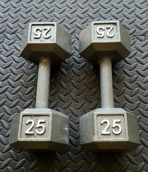 50lbs dumbbell set for Sale in Bothell, WA
