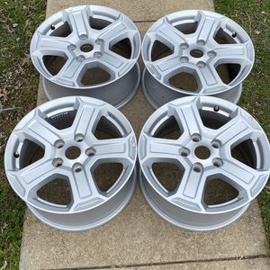 """2020 JEEP OEM WHEELS ...size 17"""" 5x5 .. No Center Caps for Sale in Silver Spring, MD"""