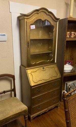 Vintage cute shelf/secretary desk regular price $300 on sale for $150 FIRM for Sale in San Antonio, TX