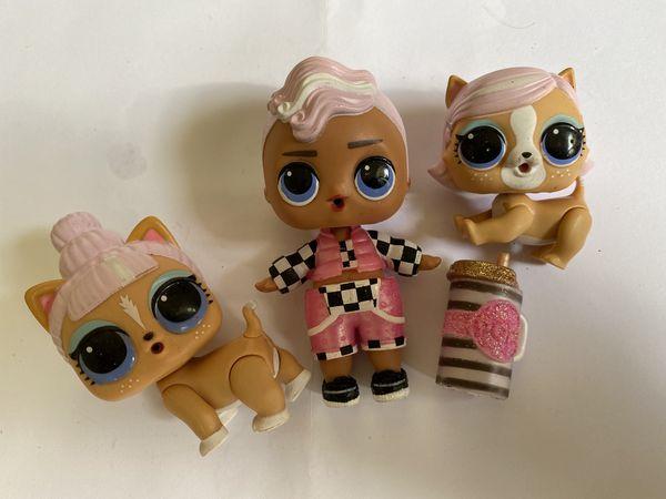 Lol Dolls lot of 3