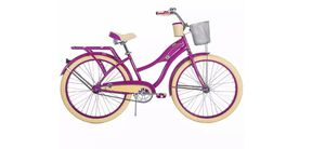 New In Box Huffy Cruiser Bike for Women 26 inches Purple Deluxe MSRP $225 for Sale in Tampa, FL