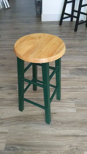 Wooden and metal stool for Sale in Katy, TX