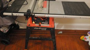 Firestorm 15 amp Table saw for Sale in Philadelphia, PA