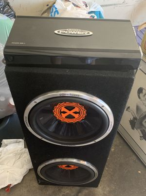 "12"" subs and 900.1 amp for Sale in Long Beach, CA"