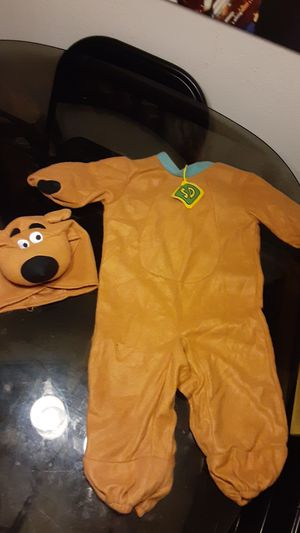 Toddler Scooby-Doo costume for Sale in Pompano Beach, FL
