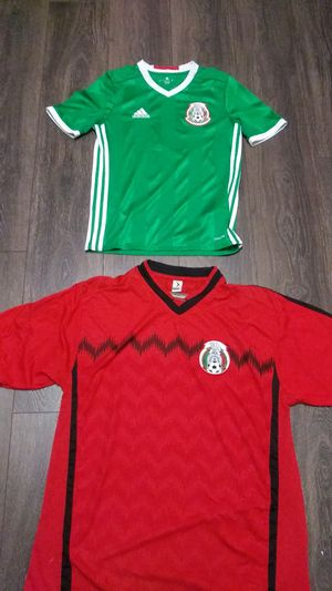 2 Team Mexico national team jerseys for Sale in Seattle, WA