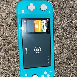 Blue Nintendo Switch Lite(no charger)  for Sale in Denver, CO