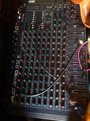 Audio Pro 512 Mixer board for Sale in San Leandro, CA