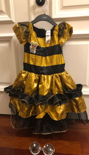 Lol doll Queen Bee costume Size small for Sale in Tampa, FL