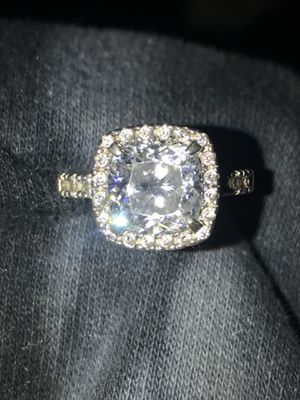 Sterling silver cubic zirconia ring for Sale in Fort Wayne, IN