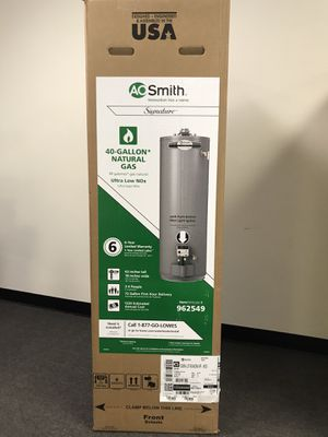 A.O Smith Water heater 30-40-50 gallons for Sale in Garden Grove, CA