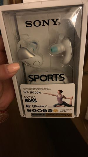 Sony Sports WF-SP700N Wireless earbuds for Sale in Rancho Cucamonga, CA