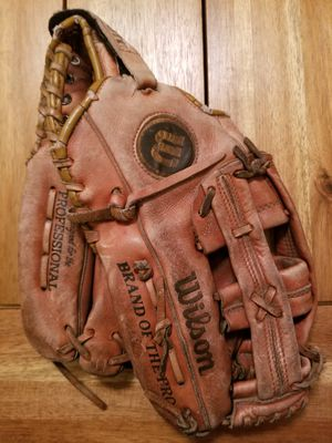 Baseball Glove Wilson A2914 American Leather with Snap Action for Sale in SeaTac, WA