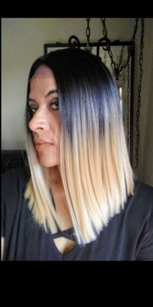 Ombre look! BLUNT CUT LACE FRONT WIG BRAND NEW / NUEVA for Sale in Fullerton, CA