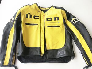 Icon Motorhead Leather Motorcycle Jacket size XL for Sale in Las Vegas, NV
