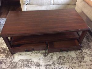 Wood Coffee Table - Dark Finish for Sale in Santa Cruz, CA