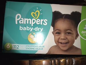 Unopened box of pampers for Sale in Fort Worth, TX