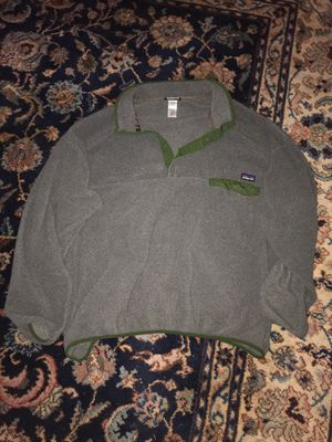 Grey Patagonia Synchilla for Sale in Raleigh, NC
