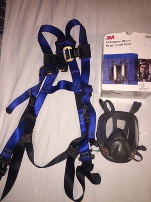Falltech Body Harness, 3M Fullface (M) for Sale in Grosse Pointe Park, MI