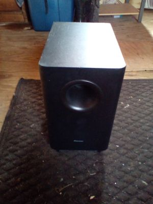 Pioneer subwoofer for Sale in Indianapolis, IN