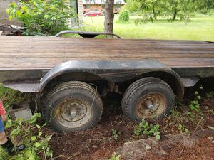 Flat bed trailer for Sale in Tacoma, WA