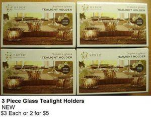 Tealight Holders NEW for Sale in Boca Raton, FL