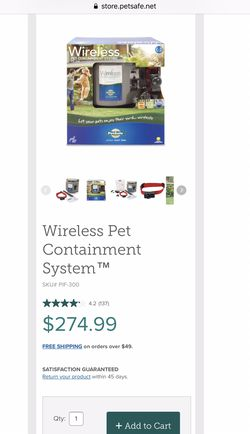 Wireless pet containment system for Sale in Knoxville,  TN