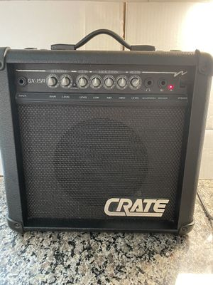 Crate GX-15R 15 Watts Electric Guitar Amp for Sale in Stanley, NC