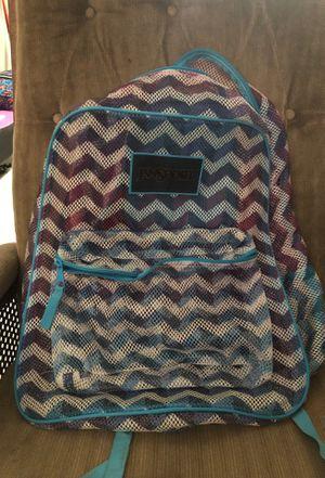 Jansport mesh backpack for Sale in Houston, TX