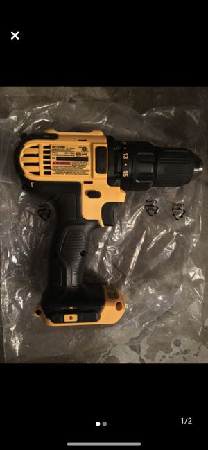 Dewalt 20v max drill + battery charger for Sale in Carlsbad, CA